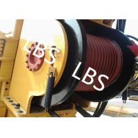 Quality Single Drum Marine Anchor Winch Left And Right Rotation Direction Lebus / Helical Grooving wholesale