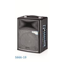 China Wireless Portable Microphone Battery Powered Dj Speakers Pro Sound Pa System on sale