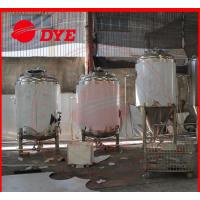Cheap Customized Bright Beer Tank Commercial , Steam Jacketed Tank Anti Aging for sale