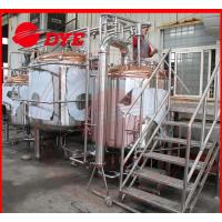 Quality 100L Beer Brewing Equipment Industrial , Draught Beer Machine For Breweries wholesale