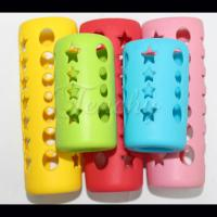 Quality Baby Silicone Feeding Bottle Sleeve, Baby Feeding Bottle Cover wholesale