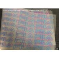 China Wholesale Cold Peel Glossy Heat Transfer Adhesive PET Film For Heat Transfer Printing Labels and Stickers By Heat Press on sale