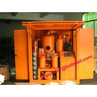 Quality Insulation Oil Filtration Plant, Double Stage Vacuum Transformer Oil Filter Machine PLC weather-proof wholesale