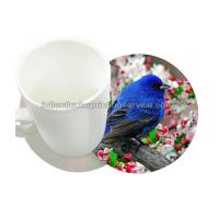 Quality Durable 0.6mm PET/PP 3D Lenticular Coasters UV Offset CMYK Printing wholesale