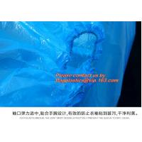 sleeve covers of non-woven,cpe and PE,sizes are customized,transparent