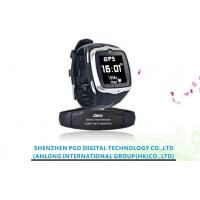 China Touch Screen GPS Exercise Timer, Heart Rate Monitor Wrist Watch with Time and Date Display on sale