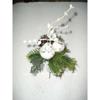 Quality Soft Touch White  Decorative silk orchids Artificial Flowers Garlands Wreaths   wholesale