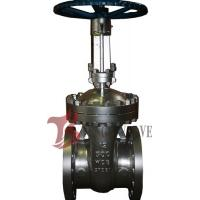 Cheap API Cast Steel Fully Open Gate Valve Metal Seat Z40H For Oil / Gas Industry for sale