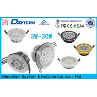 Quality Epistar / Edison/ Osram Led Ceiling Downlights Dimmable 3W 5W 7W 9W wholesale