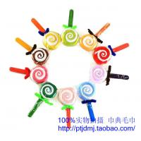 Quality Ice cream children Christmas wedding candy lover reply cake towel aureate bowknot lollipop wholesale