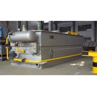 Buy cheap Flat Flow dissolved air flotation from wholesalers
