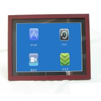 Quality Unique 15 Inch Video High Resolution Digital Picture Frame With Wood Frame wholesale