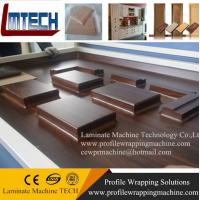 Quality PVC oak internal doors vacuum membrane press machine wholesale