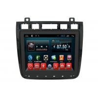 Quality Android 6.0 Auto VW Double Din Gps Radio , Dvd Gps Car Stereo Touareg 2010-2016 wholesale