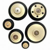 Cheap Sanding Pads with Alloy Insert and Synthetic Rubber Foam for sale