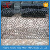 China Customized Gabion Wire Mesh Wire Cages For Rock Retaining Walls 2.0~3.7mm on sale
