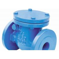 Cheap DIN2531 Ductile Iron Swing Check Valve Manual Hydraulic Handwheel Operated for sale