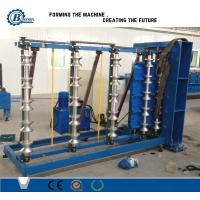 Buy cheap Roof Pipe Bending Metal Roll Forming Machine / Roll Forming Equipment Adjustable Speed from wholesalers