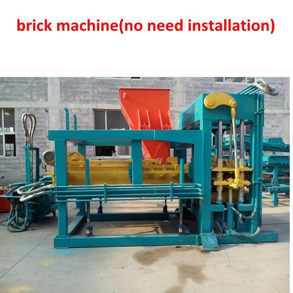cement bricks machine