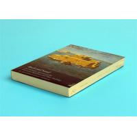 Quality A5 Novel Softcover Book Printing Services , Glossy Lamination Single Black Inner Page wholesale