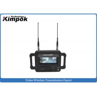Buy cheap Military Outdoor Wireless Video Receiver / Handheld COFDM Wireless Digital Receiver from wholesalers