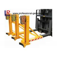 Quality Safe Warehouse Material Handling Equipment Grab Mounted Drum Loader Forklift Attachment wholesale
