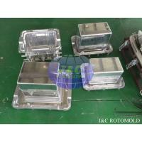 Quality Aluminum Rotational Molds With Mirror Surface Treatment , Ice Boxes Roto Moulder wholesale