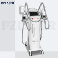 Quality 4 Handpieces Lipolysis Fat Freezing Machine Vacuum Cavitation System High Efficiency wholesale
