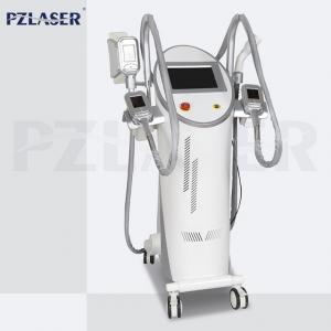 China 4 Handpieces Lipolysis Fat Freezing Machine Vacuum Cavitation System High Efficiency on sale