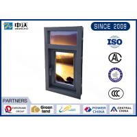 Quality Exterior Interior 45 Minute Fire Rated Windows With Composite Glass 30-50mm wholesale