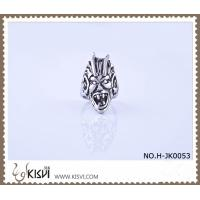 Quality Hot Selling 316l Stainless Steel Death's - Head Ring With Competitive Price H-JK0053 wholesale