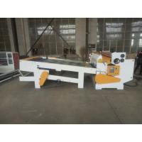 China Corrugated Paper Board Reel To Sheet Cutting Machine , Paper Reel To Sheet Cutting Machine With Stacker on sale