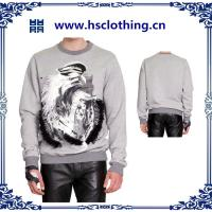 China 2015 latest designs digital prined men  hoodies on sale