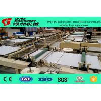Quality PLC System Gypsum Board Ceiling Tiles PVC Flim Tape Edge Machine 380V wholesale