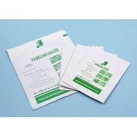 China Sterile Medical Cotton Fabric Wound Care Dressings Vaseline Cheese Cloth Gauze on sale
