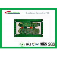 Quality Immersion Gold Rigid-Flexible PCB Green 8 Layer PCB Circuit Board wholesale