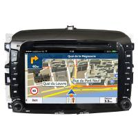 Quality Double Din FIAT Navigation System High Resolution With Capacitive Touch Panel wholesale