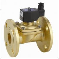 Quality Two Way Flange Electric Solenoid Water Valve , Small Solenoid Valves For Water wholesale