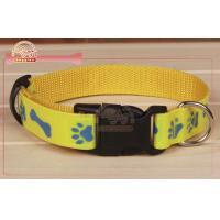 Quality Nylon Designer Dog Collars Waterproof Webbing Nylon Dog Collars wholesale