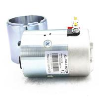 Quality 2700Rpm Hydraulic 24v Electric Motor 2.2KW N2024 Silver Color With Shaft wholesale