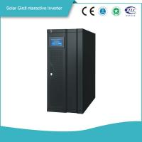 China Smart Gird Interactive Solar Power Storage 3 Phase Inverter MPPT Solar Controller High efficiency   Power Backup on sale