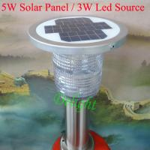 Quality 5W Panel 3W Led Source High Brightness Solar Garden Light Lawn (DL-SLS004) wholesale