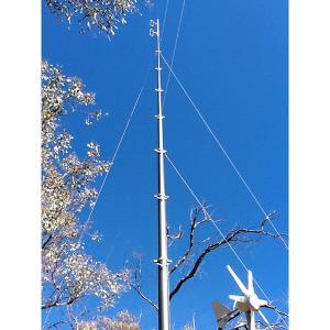 Quality 18m pneumatic telescopic masts for Telecom Antenna wholesale