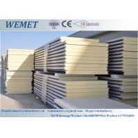 China RAL color heat resistant customized PUR(polyurethane)wall panel 50mm for warehouse on sale