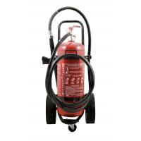 Quality Durable 50kg 40% Powder Trolley Fire Extinguisher Odorless For Computer Room wholesale