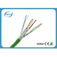 Cheap Twisted Pairs Ethernet Cat6a Lan Cable For Computer High Frequencies for sale