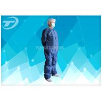 Quality Non Woven 4/5/6 Taped Disposable Coverall Suit By SMS Or Microporous Film Laminated Materials wholesale