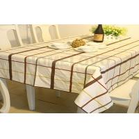 Quality Elegant printed protective table covers wedding tablecloths for Hotel wholesale