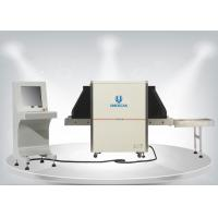 Quality 650 * 500mm Tunnel Size Security Baggage Scanner For Parcel / Airport SF6550 wholesale