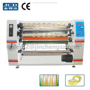 Quality JC-210 high Speed BOPP tape slitter rewinder machine wholesale